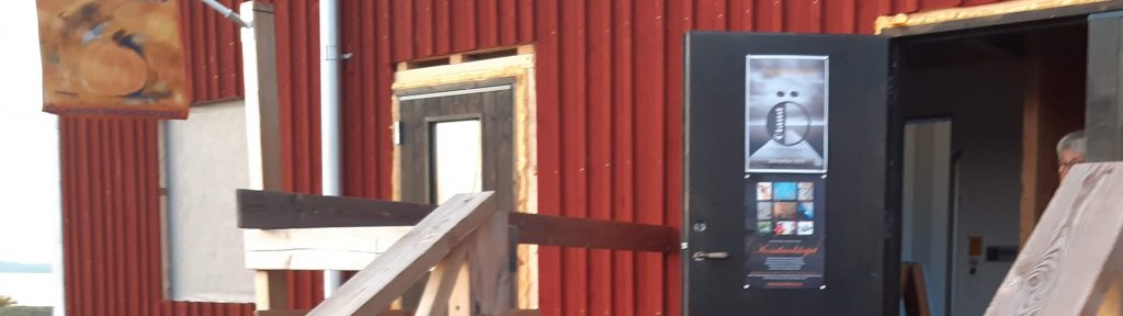 Ingången till Hamnmagasinet